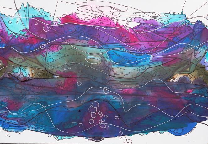 Sky Water 20x14